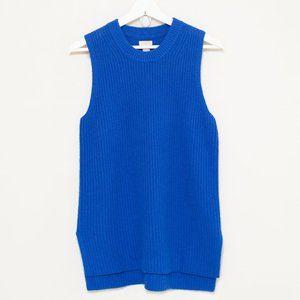 J. Crew Ribbed Wool Blend Sleeveless Sweater S